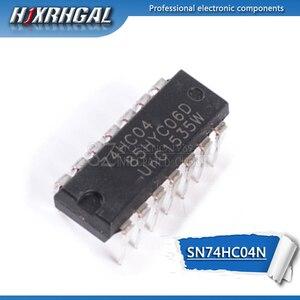 Image 1 - 10 pcs SN74HC04N DIP14 SN74HC04 DIP 74HC04N 74HC04 7404