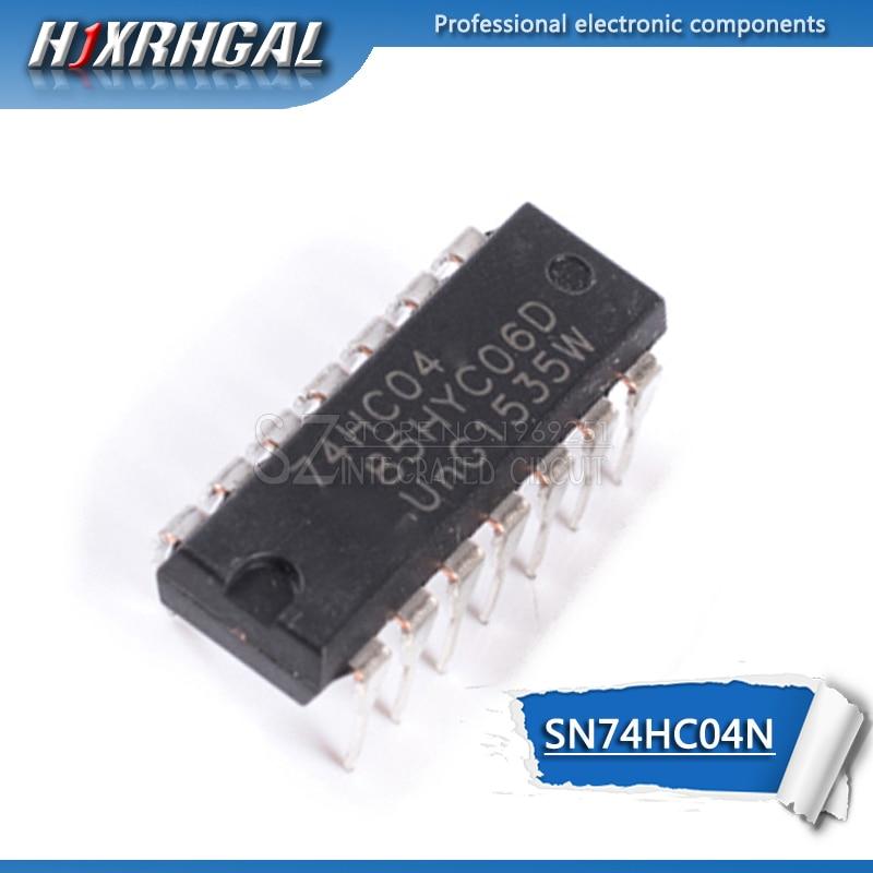 10pcs SN74HC04N DIP14 SN74HC04 DIP 74HC04N 74HC04 7404