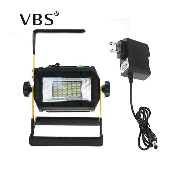 Led Portable Spotlight Lampe Led Outdoor Work Light Flood Light