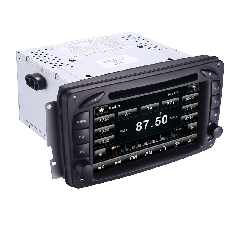 Image 5 - 2din 7 inch CAR DVD PLAYER For Mercedes Benz CLK W209 W203 W208 W463 3g GPS Bluetooth Radio Stereo Car Multimedia Navi System-in Car Multimedia Player from Automobiles & Motorcycles