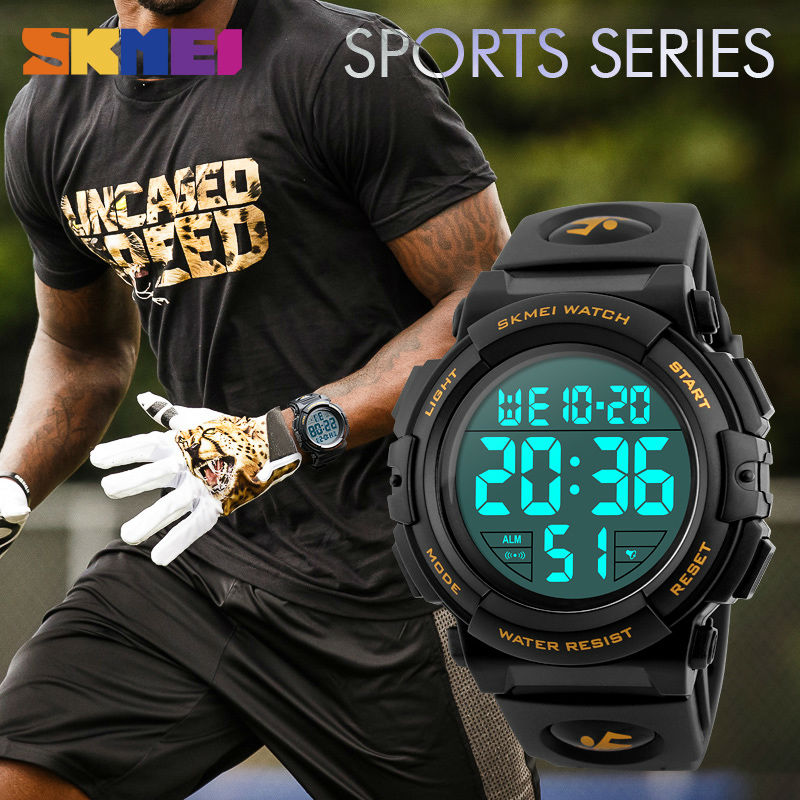 SKMEI Men Watch 2018 Top Luxury Brand Sport Watch Electronic Digital - Relojes para hombres - foto 4