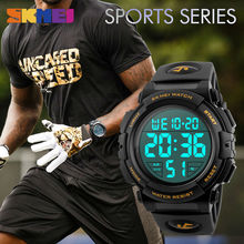 SKMEI Watch Men 2018 Top Luxury Brand Sport Watch Electronic Digital Male Wrist Clock Man 50M Waterproof Men's Watches 1258
