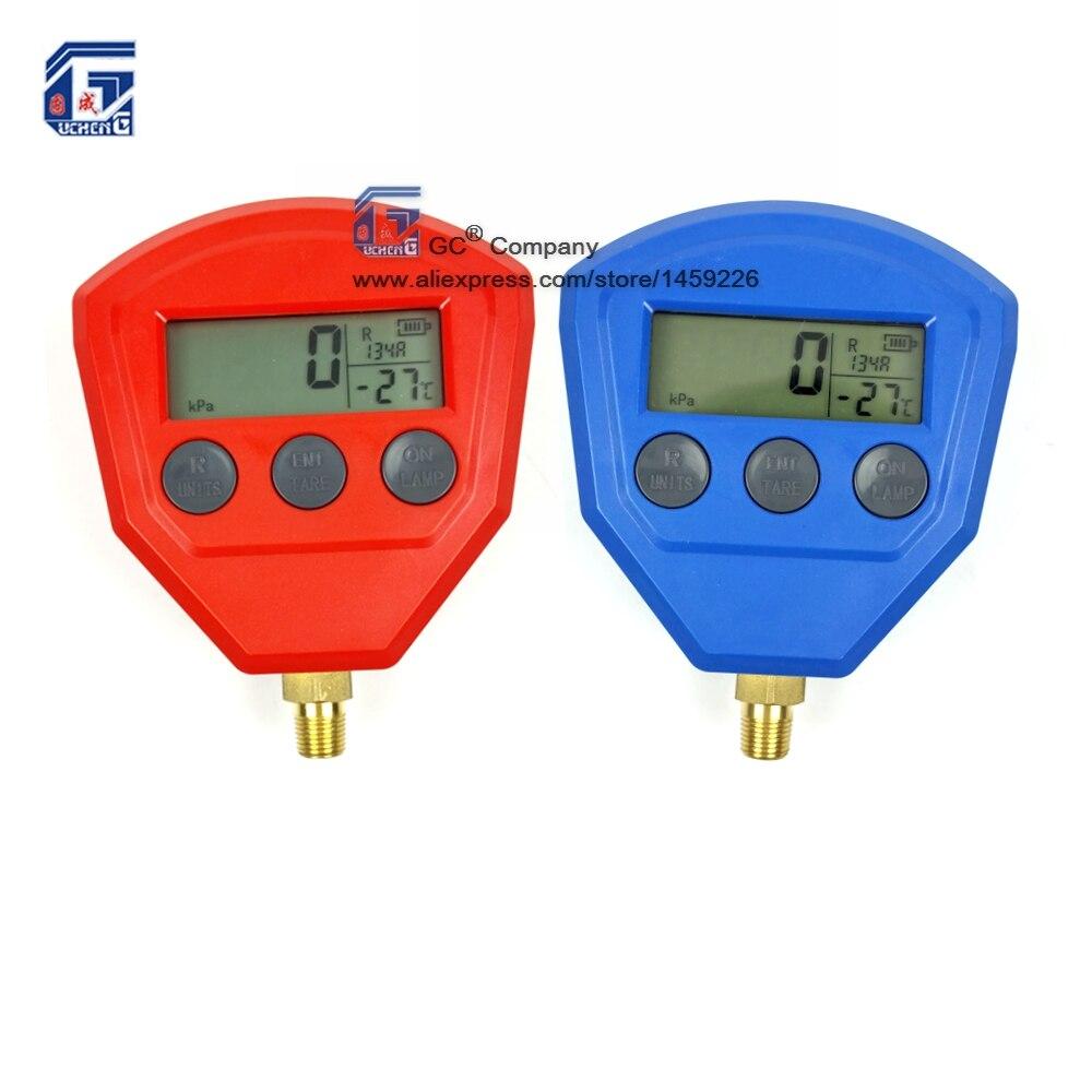 R134a R22 R404A R410A R407C Numérique Manomètre pour Climatiseur Réfrigération