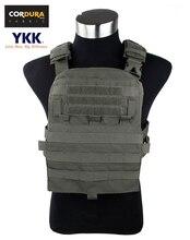 Tmc Cordura Adaptive Vest 18 Ver. Fit Rits Panel Pouch Tactische Militaire Jacht Vest Ranger Green(SKU051197)