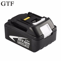 GTF 18V 8000mAh Rechargeable Battery Replacement Li Ion Battery Power Tool Battery for MAKITA BL1880 18V tool battery