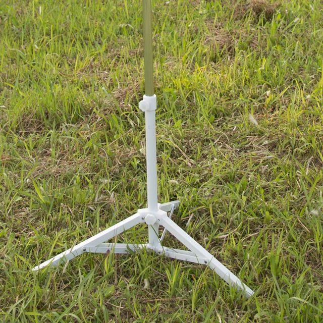 High Quality Sun Beach Umbrella Stands Umbrella Storage Stand Foldable  Triangular Underframe Umbrella Holder