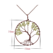 Best Tree Of Life Chakra Necklace Cheap