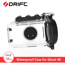 Action Camera Sports cam 50m Waterproof Case box for Ghost 4K