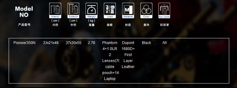 Pioneer 350N Drone Camera Bag 01