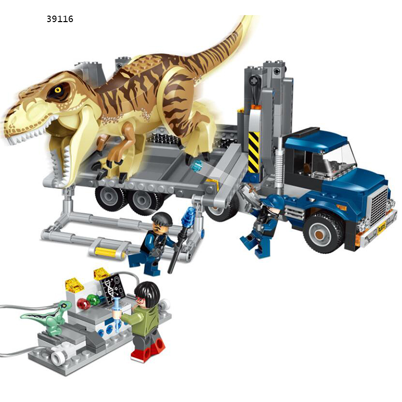 Legoings Jurassic Dinosaurs World Park Dinosaur Raptor protection zone Building Blocks Set Kids Toys juguetes Compatible Legoing leadingstar leadingstar 6pcs set twisted egg blocks jurassic dinosaurs small particles building blocks assembled toys kids gifts