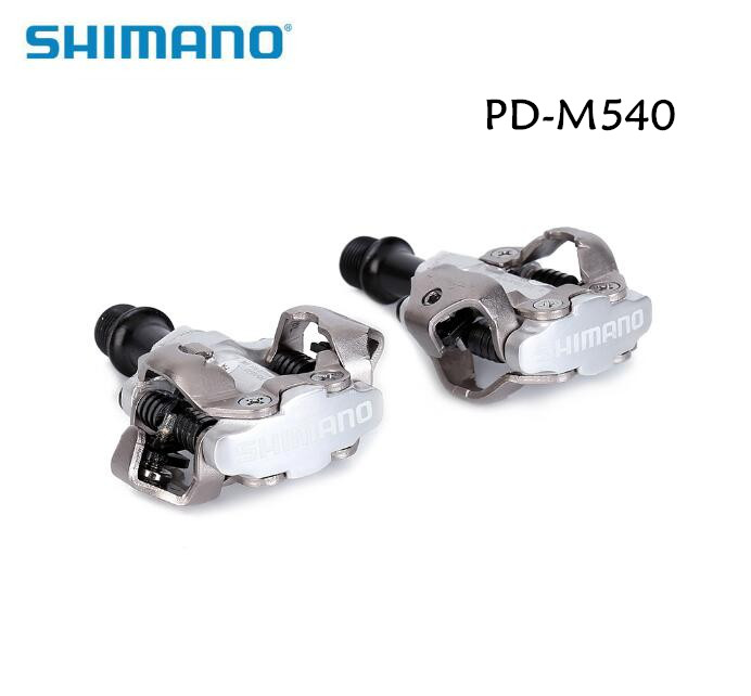 shimano PD-M540 mountain bike SPD pedal lock pedal , m540 mtb pedals shimano pd m540 m540 mtb spd pedals mtb bike bicycle cycling self locking pedal clipless spd sm sh51 cleats