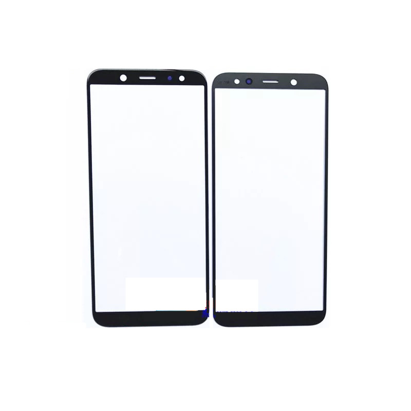 for samsung galaxy a6plus a8plus 2018 phone replacement parts outer lens glass screen panel with