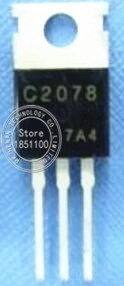 Free shipping 10pcs 2SC2078 C2078 RF Power Amplifier New High Quality TO-220 IC