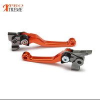 Billet Pivot Foldable Brake Clutch Levers For For KTM 300 XC W XC EXC SIX DAYS 2014 2015 2016 2017 2018