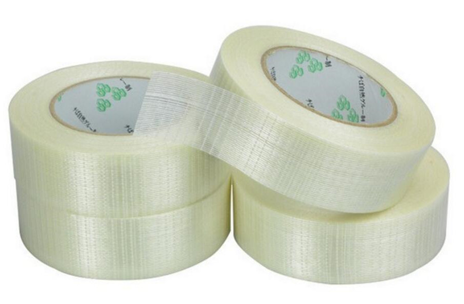 1PCS / volumes high strength transparent grid type, glass fiber reinforced plastic waterproof and wear-resistant adhesive tape rc model tool repair tape high strength fiber glass tape 40mm x 25meter