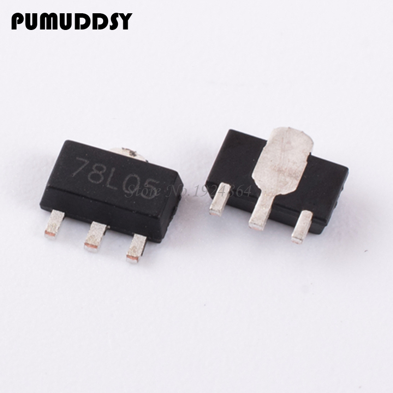 50pcs/lot 78L05 SOT89 Triode new original free shipping IC50pcs/lot 78L05 SOT89 Triode new original free shipping IC