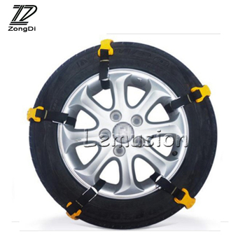 ZD 10pcs Car Tire Anti-skid Snow Tyres Chains For Hyundai I30 Ix35 Tucson Accent Creta IX25 Kia Rio Ceed Sorento Sportage 2017