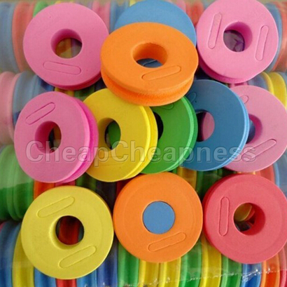 5 Pcs Fishing Foam Line Spools for Fishing lines String Bobbin Round Shaped Foam Hook Line Storage Spools Tool Kits