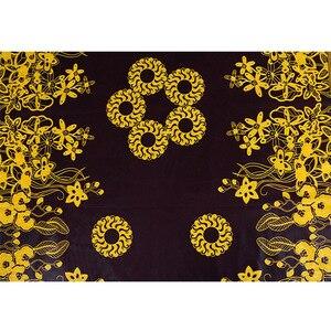 Image 5 - 100% Cotton Ankara African Printing Batik Fabric Real Wax Africa Tissu Sewing Material For Party Dress Artwork Craft DIY Textile