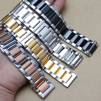 18 20 21 22mm Stainless Steel Watchband Quick Release Pins Fit Classic Frontier Watch Band Wrist
