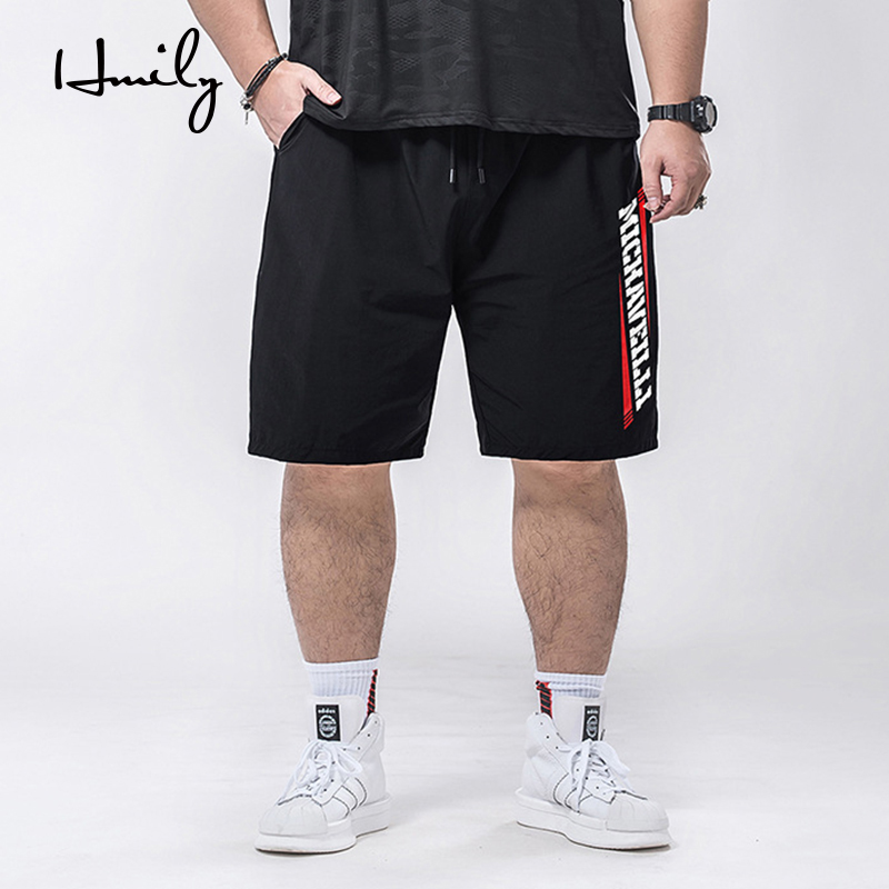 HMLIY All-match Summer Casual Men's Knee Length Shorts Loose Men's Printed Men's Shorts Large Plus Size XXL 3XL 4XL 5XL 7XL