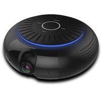 Панорамный 180 градусов 1080P HD Wifi IP Камера встроенный 5 Вт Hifi Системы Bluetooth Динамик Интернет музыки бесплатное приложение Remote управление