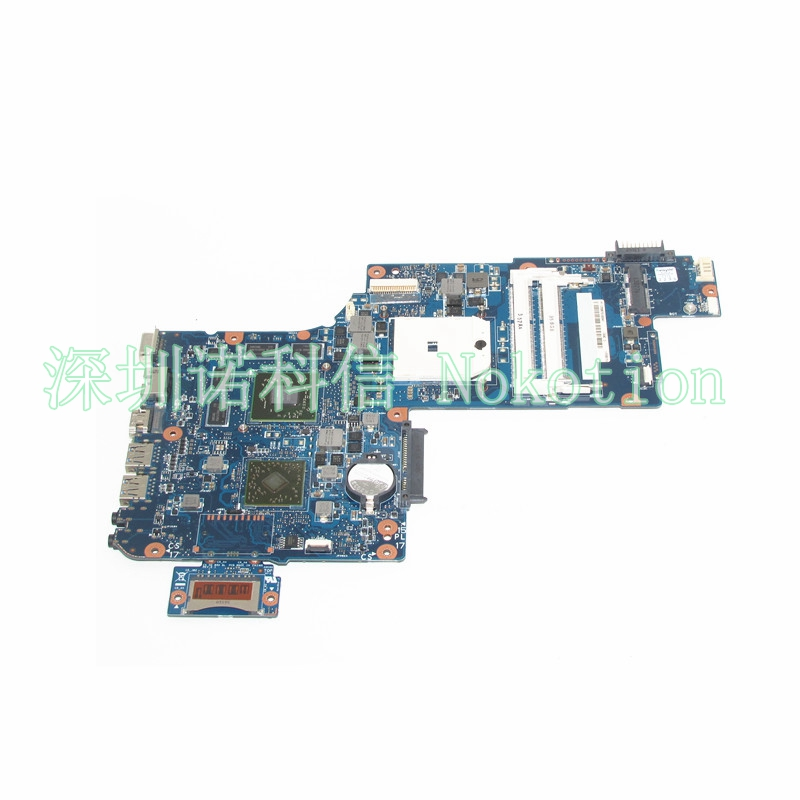 Здесь продается  NOKOTION H000043590 Motherboard For Toshiba Satellite L870 L875 C875 Main Board Socket fs1 DDR3 7600M Discrete Graphics  Компьютер & сеть