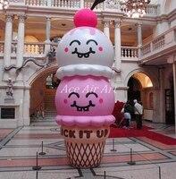 OEM Giant Lighting Inflatable Model Ice Cream Ice Cream Inflatable For Advertising