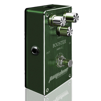 Aroma Booster Premium Analogue Effect Electric Guitar Pedal ABR 1 Low Knob Amplifier Clear Sound Natural