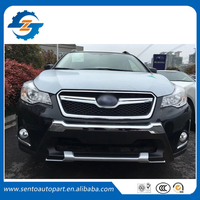 High quality pp material front and rear bumper guard for forester xv 2016 2017