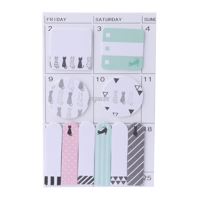 Dropwow Animals color memo pad paper Schedule marker Weekly plan