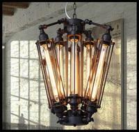 8pcs E27 T30 Edison bulbs lights Chandeliers Art Deco Abajur lights Black Modern Large Creative lustre lamps