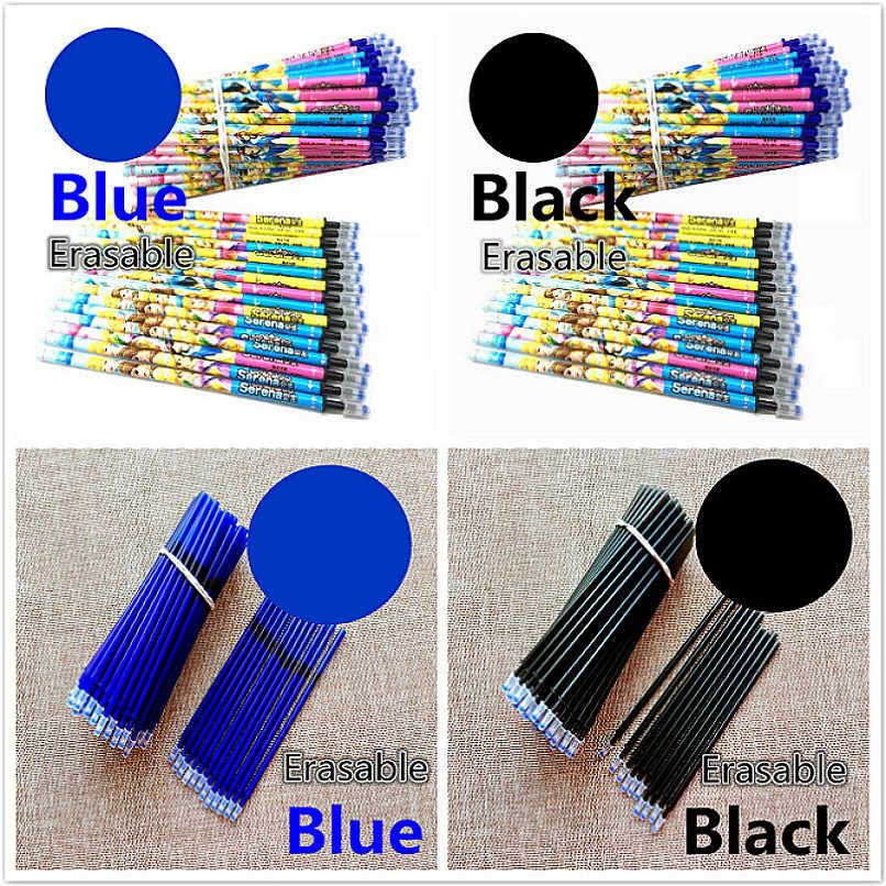 1pc Replacement Cartridge Erasable Gel Pen Refills Red Blue Ink Blue Black Writing Neutral Pen Creative Drawing University