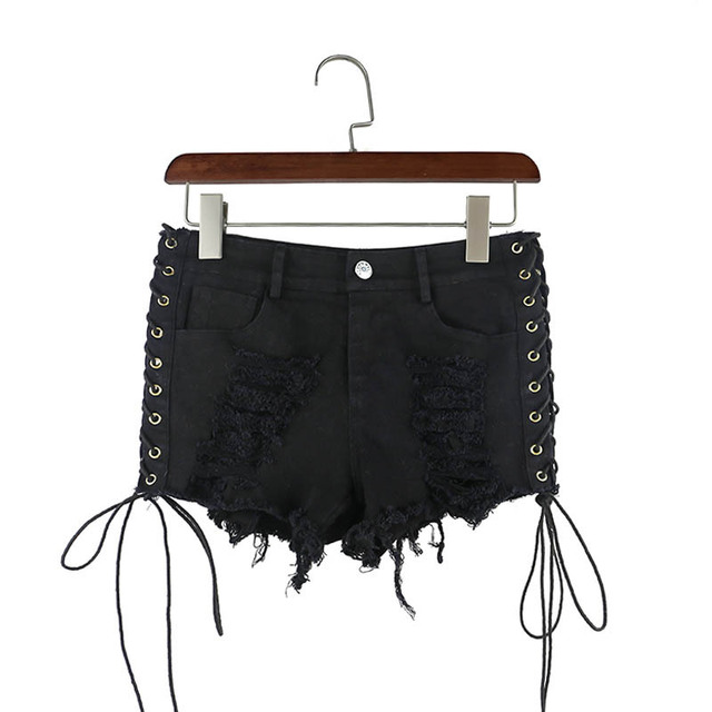 Black Shorts Womens