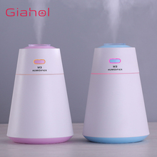 GIAHOL 200ML USB Air Humidifier with LED Colorful Light mist diffuser for Home Office Aroma Diffusers Ultrasonic Aromatherapy
