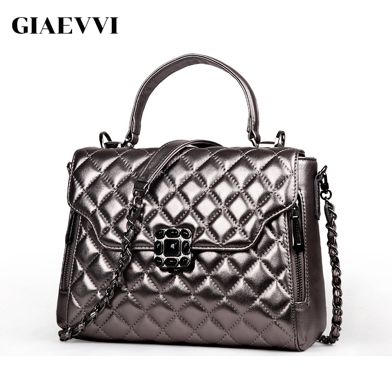 GIAEVVI Luxury handbag women genuine leather handbag messenger bags fashion tote shoulder bag ladies crossbody for girls aelicy fashion women girls canvas shopping handbag shoulder tote shopper crossbody bags for women messenger bag bolsas feminina