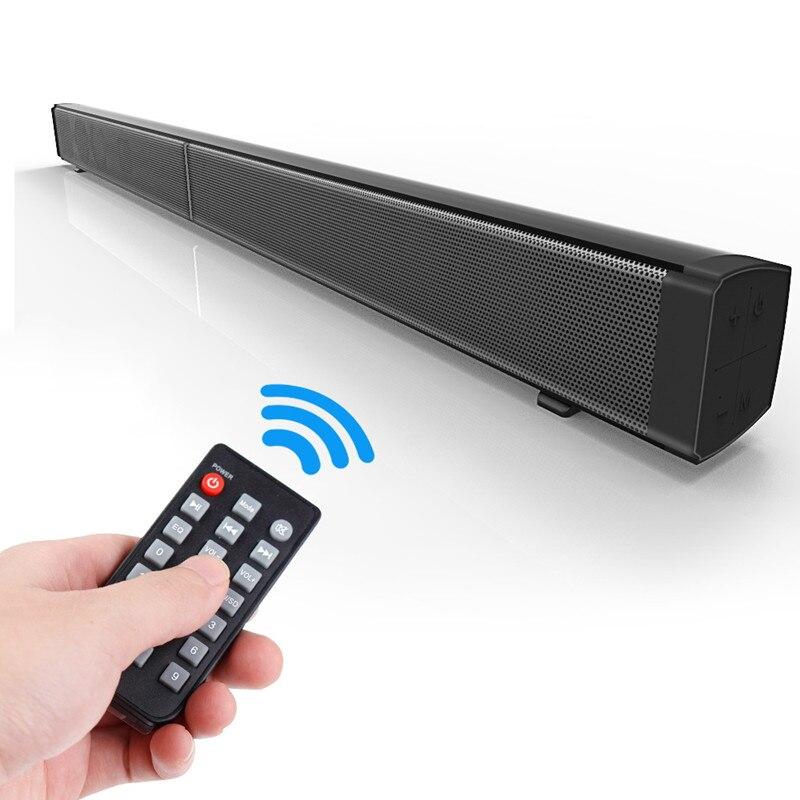 LENASFONE Home Theater 40W Bluetooth Soundbar TV AUX Optic Bluetooth Soundbar Speakers Soundbar with Subwoofer Speaker for TV домашний кинотеатр home theater 5 1 bluetooth