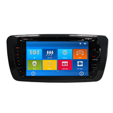 Car DVD GPS Navigation Player for SEAT IBIZA 2009 2010 2011 2012 2013 with Radio Bluetooth Can Bus steering wheel control RDS