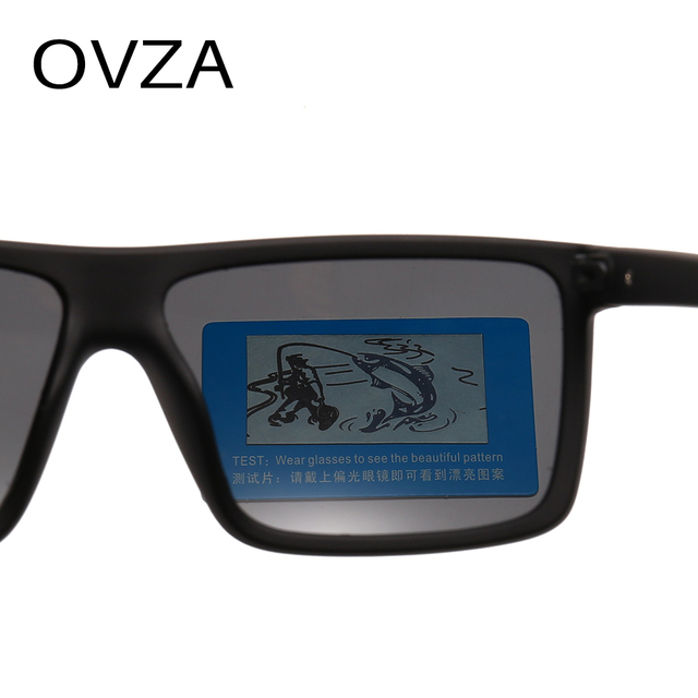 OVZA Polarized Flat Top Designer Sunglasses 3