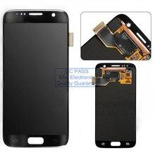 Lcd affichage à l'écran tactile digitizer assemblée pour samsung galaxy s7 sm g930 g930f g930a g930v g930p g930t g930r4 g930w8