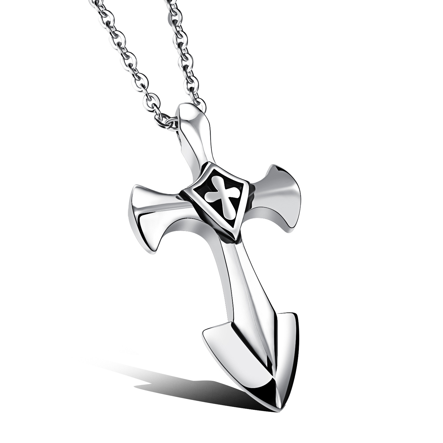 pendant necklaces enlarged jewelry products necklace i jerusalem cross reiss