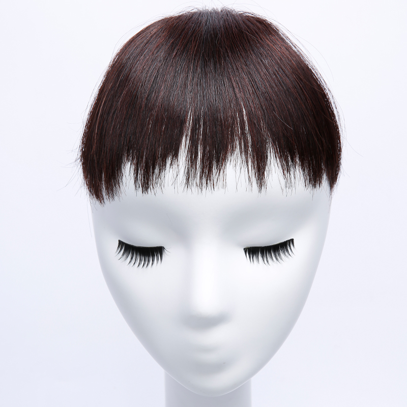 JINKAILI WIG Role Playing Synthetic Hair Short Bangs 1Clips Clip In Hair Extension Multicolor Bangs Hairpieces