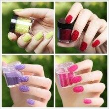 Цельный 18 цветов Модные украшение для ногтей пушистый Флокированный вельвет порошок для ногтей художественные советы L4B147
