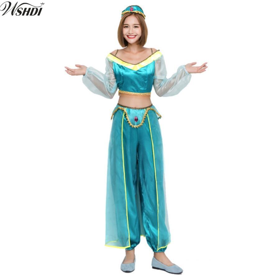 Aliexpress.com : 2018 prinzessin jasmin kostüm frauen ...