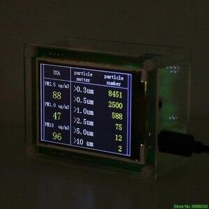 "Image 5 - 2.8 ""רכב PM2.5 גלאי Tester Meter אוויר באיכות צג בית גז Analyzer מדחום"
