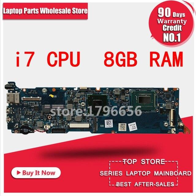 UX31A Carte Mère i7 8 gb RAM REV: 4.1 Pour ASUS UX31A2 UX31A Mère d'ordinateur portable UX31A Carte Mère UX31A Carte Mère test 100% ok