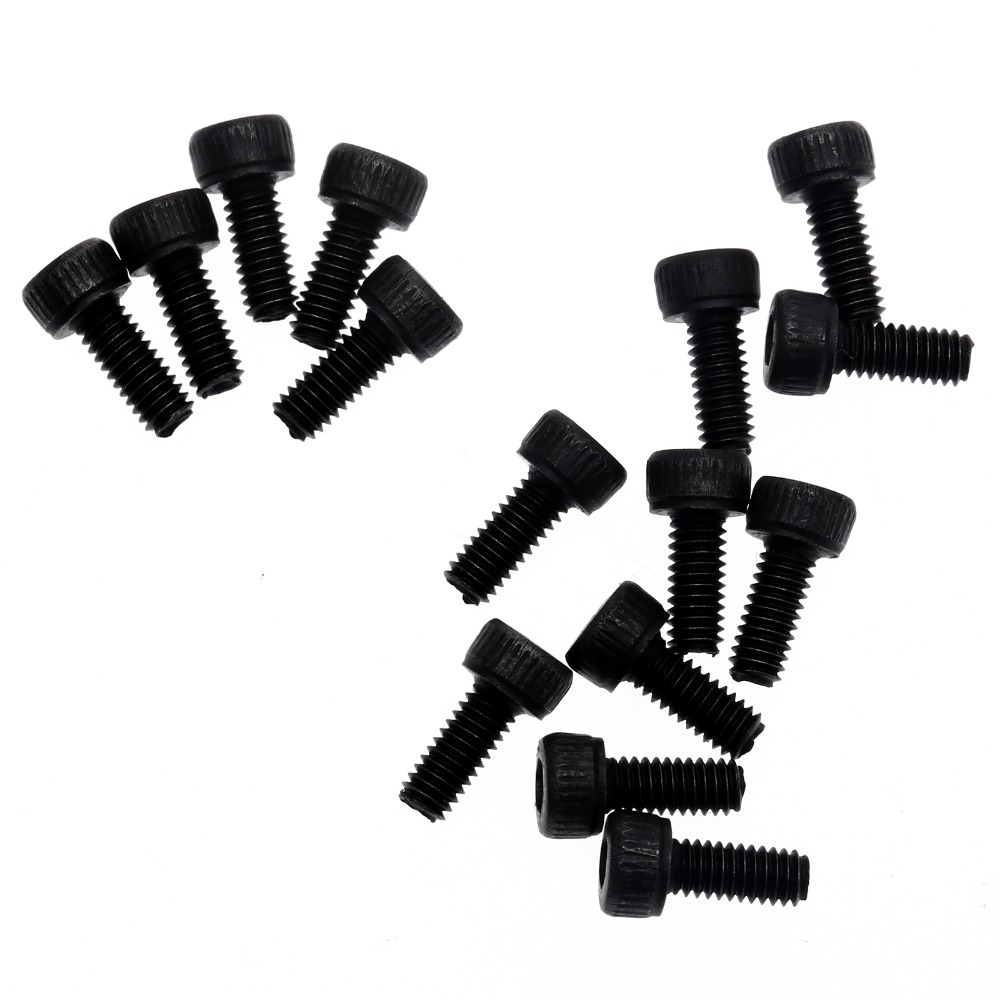 2.5mm M2 Assorted Screw Set x 6mm,8mm,10mm,12mm,16mm,20mm plus Nuts and Washers