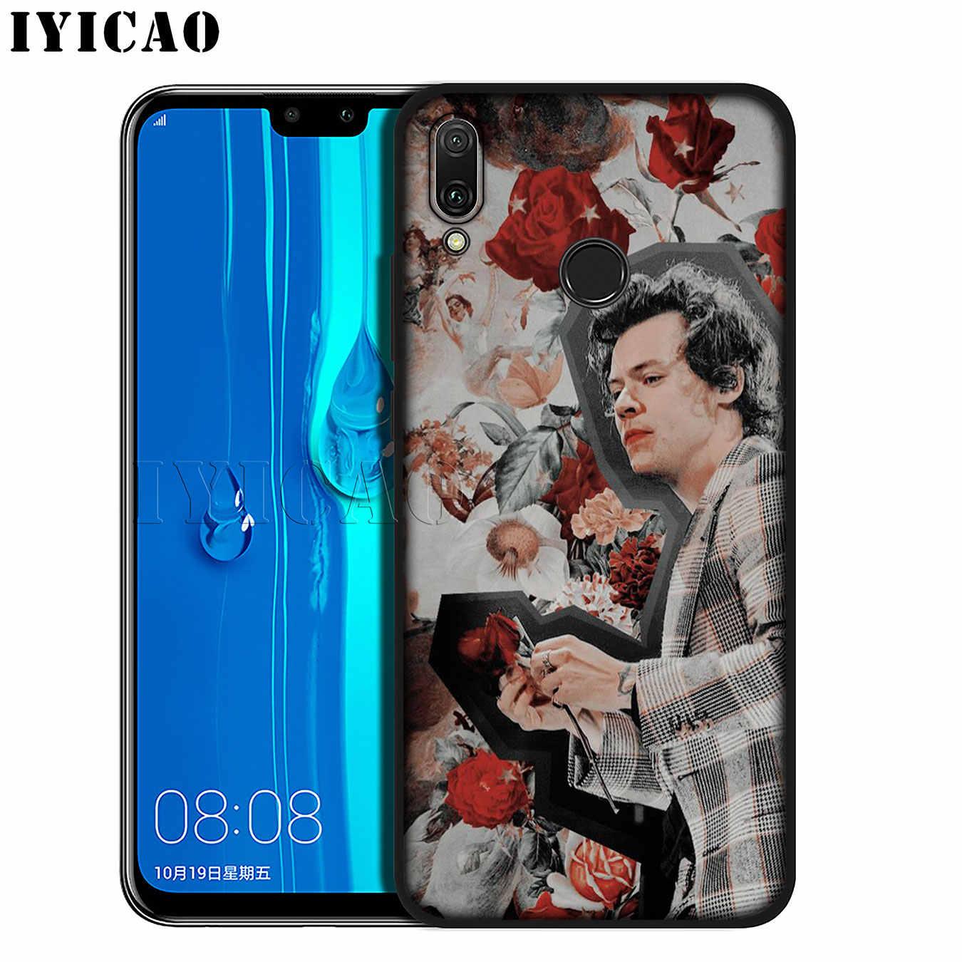 IYICAO 一方向入れ墨ハリースタイルソフトシリコン電話ケース huawei 社メイト 30 20 10 プロ Lite ノヴァ 5I 4 3i 3 2i Lite