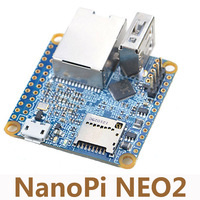 Ultra Small NanoPi NEO2 Allwinner H5 64 Quad Core A53 Development Board Running UbuntuCore