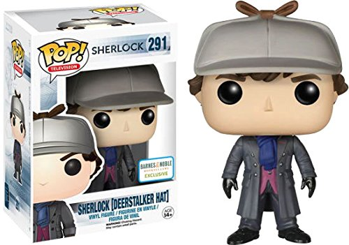 Exclusive Funko pop Official TV: Sherlock -Sherlock Holmes (Deerstalker) Vinyl Figure Collectible Model Toy with Original Box hannibal funko figure will graham funko pop vinyl figures funko 3 75 vinyl figures hannibal pop funko doll toy